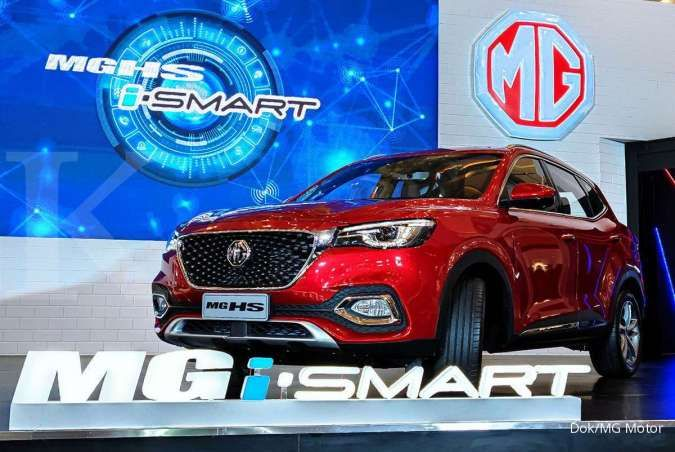 MG meluncurkan mobil pintar dengan teknologi otonom