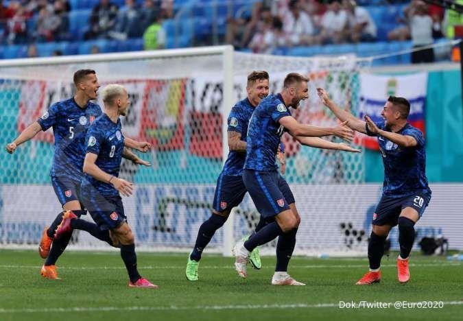 Jelang laga Swedia vs Slovakia di Grup E Euro 2020