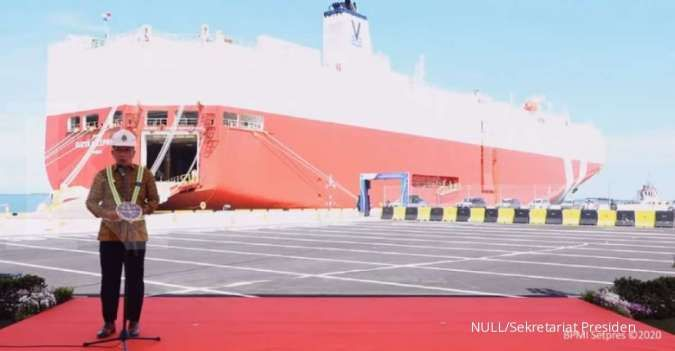 Pantun pujian Ridwan Kamil ke Jokowi dan Menhub, di soft launching Pelabuhan Patimban