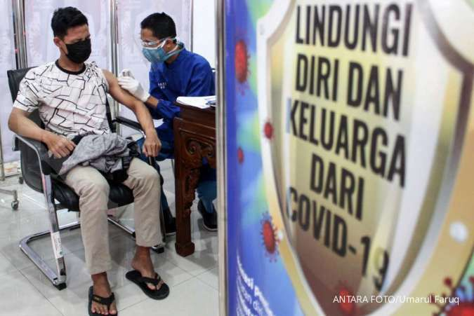 Sebagian masyarakat masih enggan menerima vaksinasi Covid-19