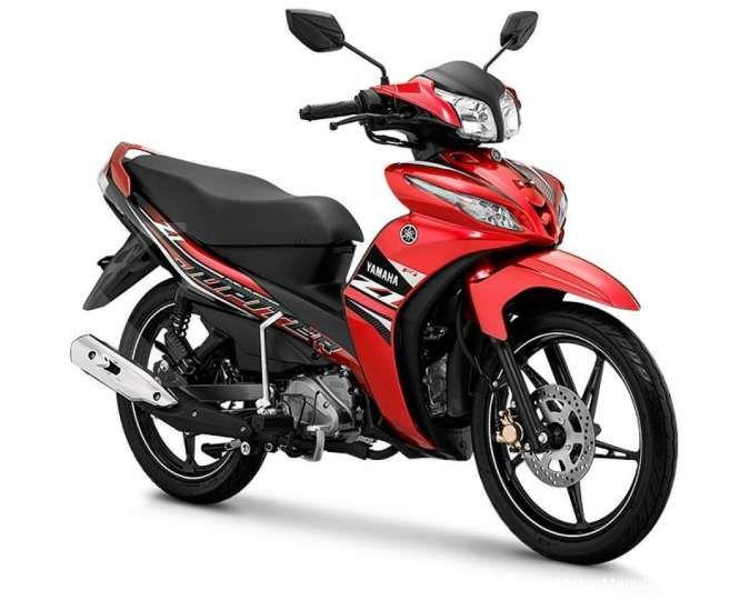 Yamaha merilis tiga warna dan striping baru motor bebek Jupiter Z1