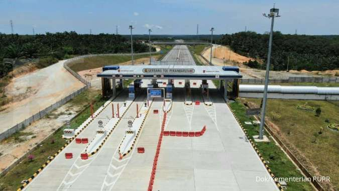 Sebanyak 17 rest area di jalan tol Trans Sumatera telah dioperasikan Hutama Karya