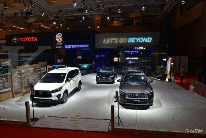 Penjualan mobil Toyota cukup positif selama IIMS Hybrid 2021 berlangsung
