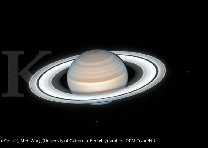 NASA mengabadikan pemandangan indah planet Saturnus saat musim panas