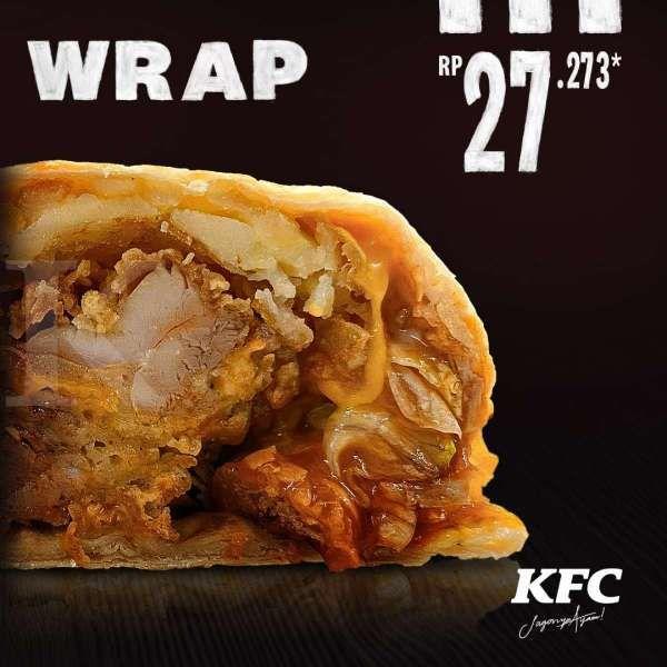 Promo KFC Crispy Wrap Rp 27.273