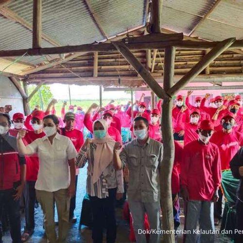 KKP Latih Petambak Udang dan Bandeng di Lahan Idle