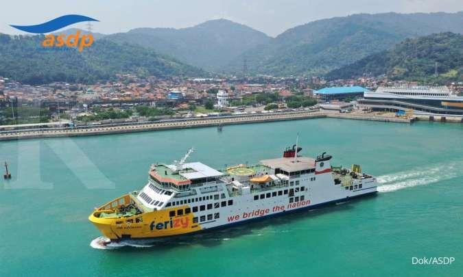 Masa peniadaan mudik 2021, jumlah penumpang Pelabuhan Merak turun 72%
