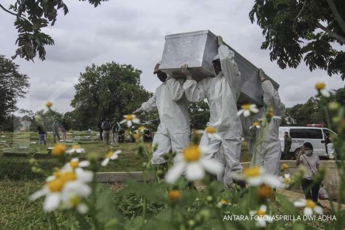 Terus melonjak, angka kematian akibat Covid-19 di Jakarta 1.211 jiwa pada Februari