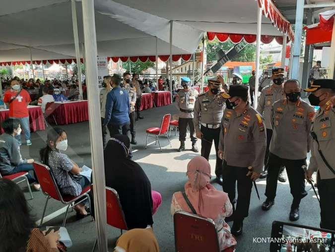 UPDATE vaksinasi corona di Jakarta Sabtu (24/7) catat 179.490 orang, total 6,98 juta