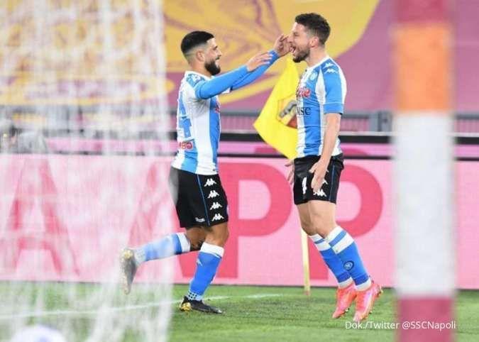 Hasil Liga Italia Serie A antara AS Roma vs Napoli