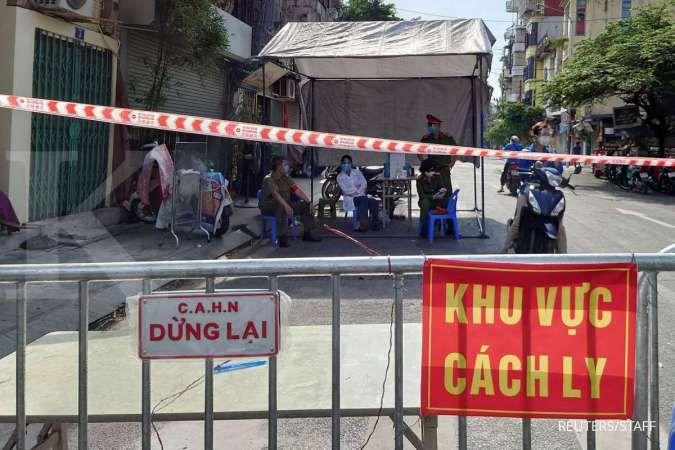 Vietnam kerahkan pasukan militer untuk terapkan penguncian Covid-19 di kota terbesar