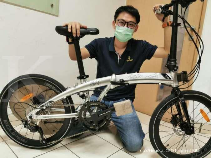 Ingin sepeda lipat awet? Ini tips cara merawat sepeda lipat dari Bos Element Bike