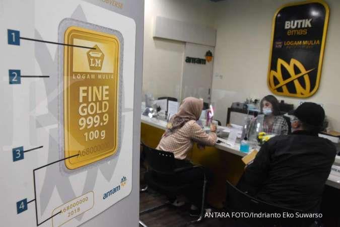 Harga emas 24 karat Antam hari ini naik Rp 2.000 per gram, Kamis 13 Agustus 2020