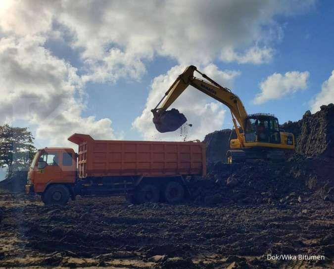 Wijaya Karya Bitumen agresif bidik pertumbuhan kontrak baru di tahun ini