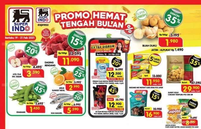 Promo Superindo weekend tawarkan diskonan baru, 19-21 Februari 2021