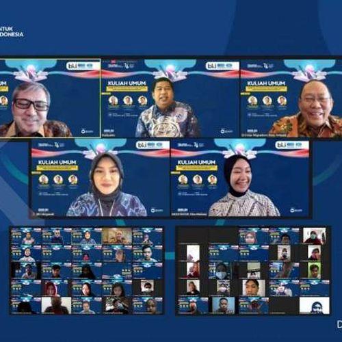 BUMN Jasa Survei Adakan Kuliah Umum, Upaya Pengembangan Talenta Generasi Muda