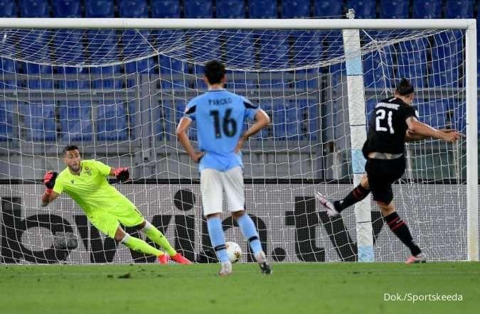 Zlatan Ibrahimovic sebagai eksekutor penalti terbaik