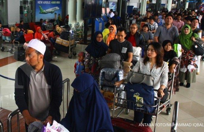 Jumlah penumpang AP II di Lebaran naik 9,7%