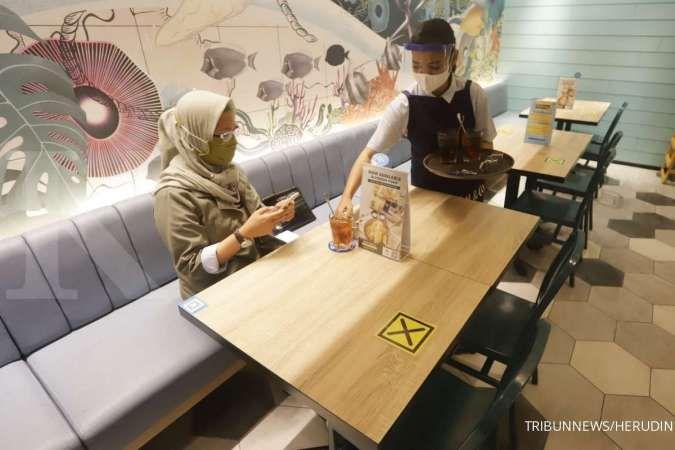Virus Corona rentan tersebar di dalam restoran.