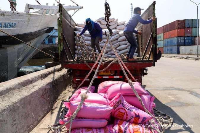 Sejumlah produsen beras mengamankan stok menjelang Ramadan