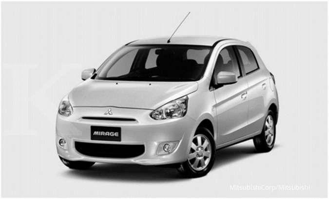 Berfitur komplet, harga mobil bekas Mitsubishi Mirage kini mulai Rp 70 juta