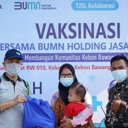 Vaksinasi Bersama Holding  BUMN Jasa Survei