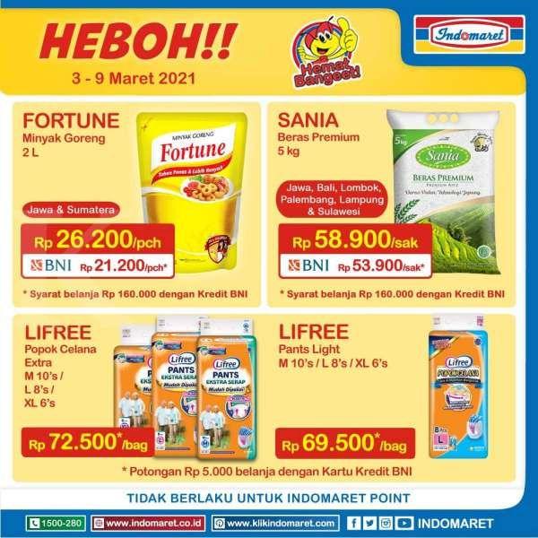 Promo Indomaret Harga Heboh 3-9 Maret 2021, ada diskon minyak goreng!