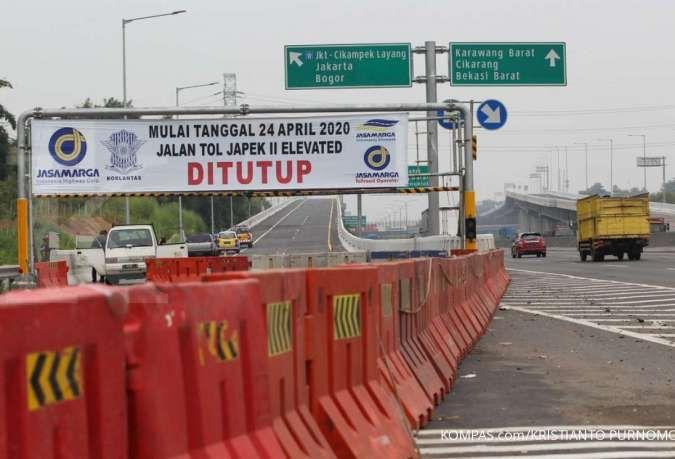 Gerbang Jalan Tol Layang Jakarta - Cikampek