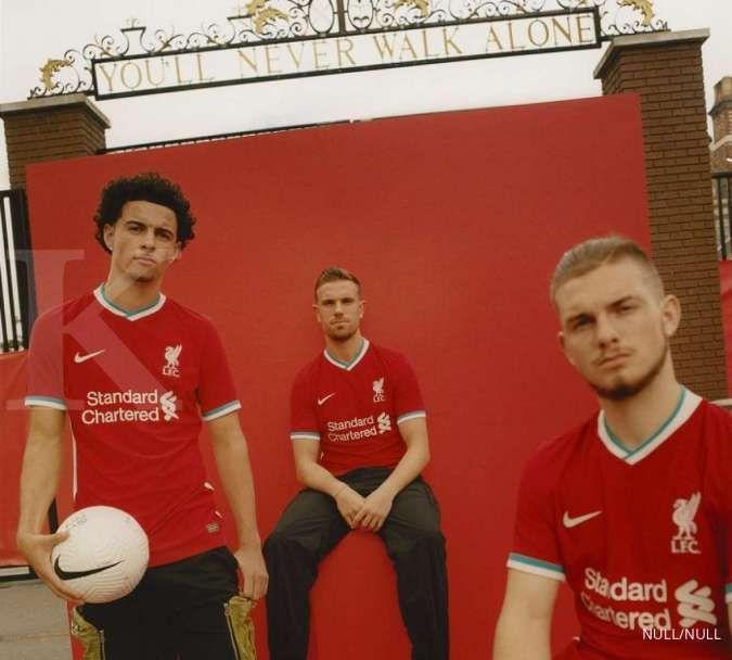 Liverpool dan Nike resmi meluncurkan jersey baru, ini kata pemain The Reds