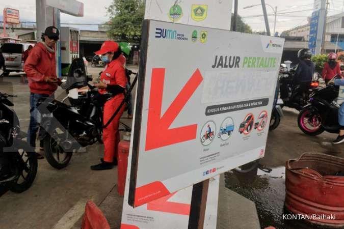 Realisasi penyaluran BBM dan gas Pertamina selama Ramadan dan Lebaran 2021