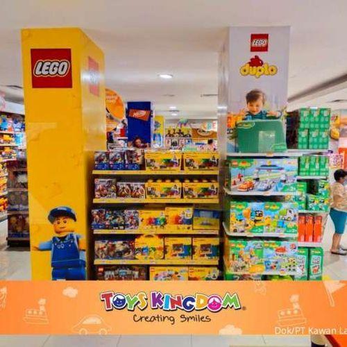 Memiliki Segudang Manfaat Bermain, Toys Kingdom Hadirkan Lebih Banyak Koleksi Lego