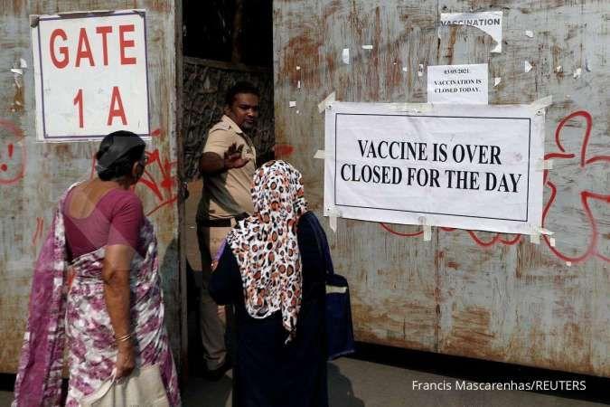 Gratis, vaksinasi Covid-19 India mencapai rekor