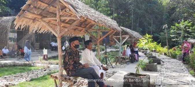 Taman Jati Larangan merupakan tempat wisata terbaru di Bantul, dengan harapan dapat mendongkrak ekonomi masyarakat sekitar. Dok: Pemerintah Kabupaten Bantul.
