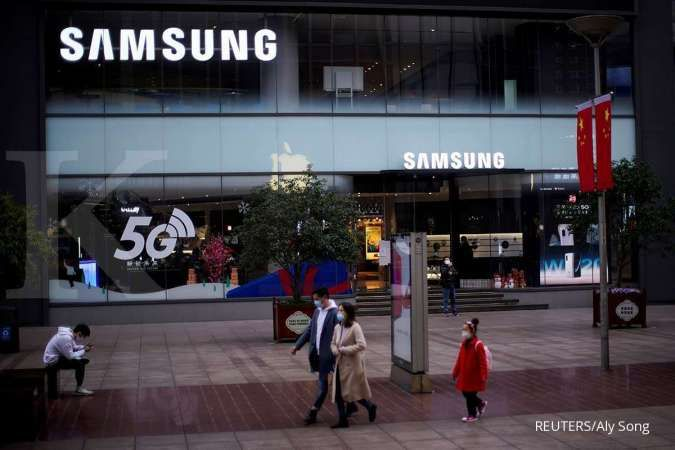 Samsung store di Shanghai, China 21 Feb 21 2020. REUTERS/Aly Song/File Photo