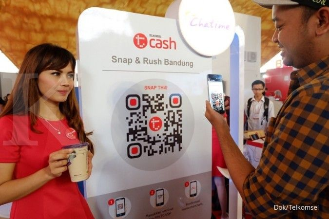 Sebanyak 20% pelanggan T-Cash di Area Jabodetabek Jabar
