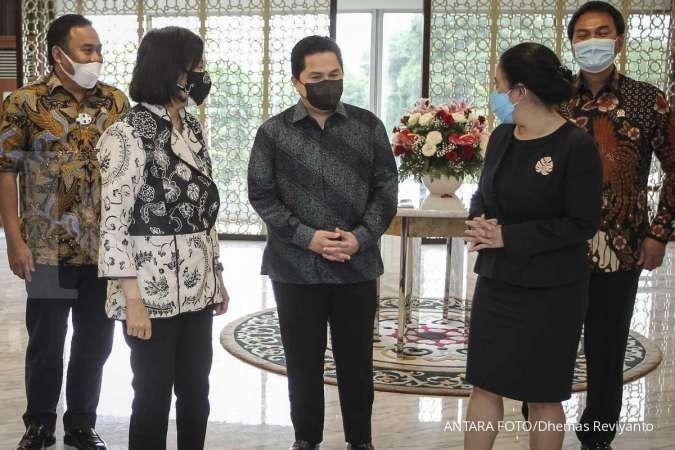 Menteri Sri Mulyani & Erick Thohir dapat amanah baru dari Jokowi
