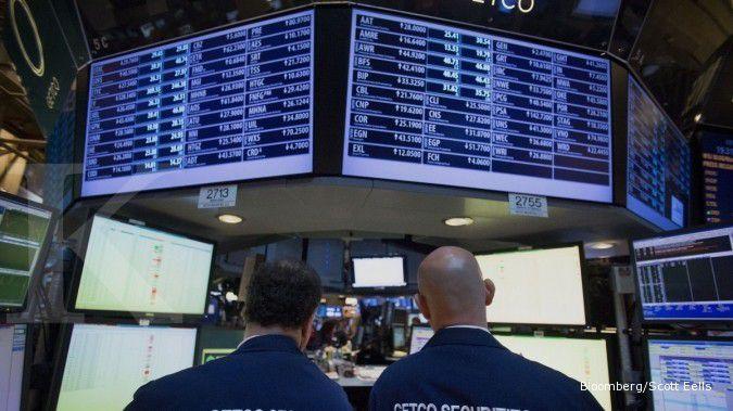 Bursa saham AS tergelincir dari posisi tertinggi