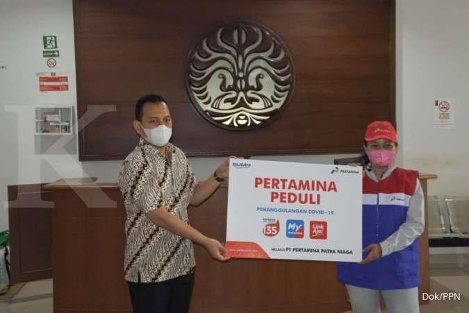 Pertamina Patra Niaga salurkan APD ke alumni Keperawatan UI
