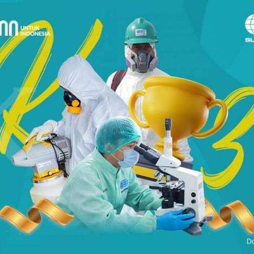 Sucofindo Raih Penghargaan K3 Tahun 2021 dari Kemenaker