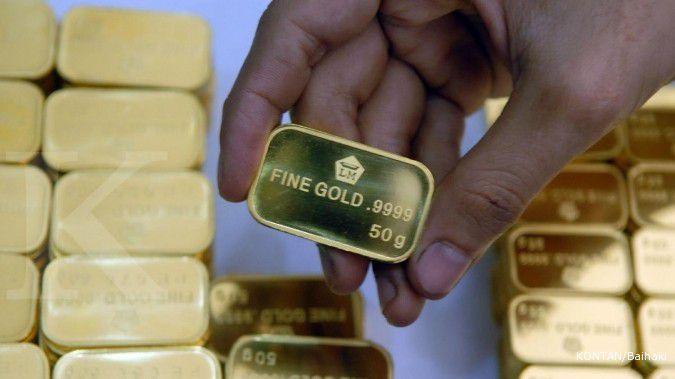Harga emas Antam turun lagi Rp 1.000 menjadi Rp 946.000 per gram pada hari ini (22/7)