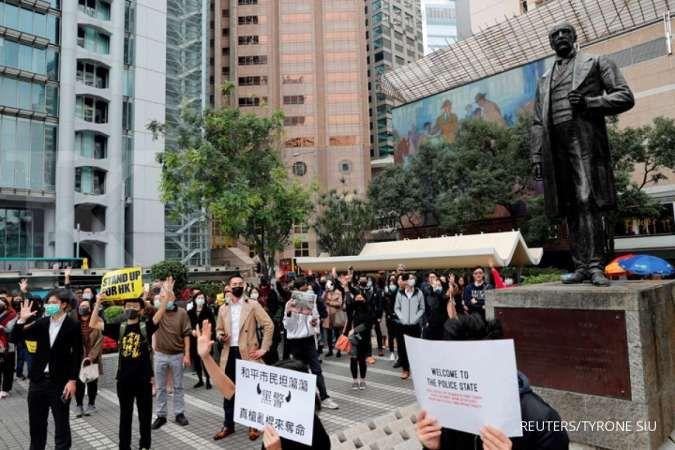Gagal atasi demonstrasi, China ganti kepala kantor penghubung Hong Kong