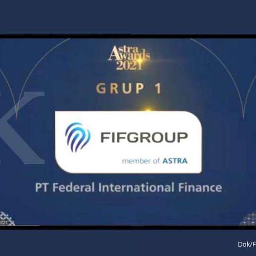 Peringati HUT Astra ke-64 Tahun, FIF Group Terpilih Sebagai Perusahaan Terbaik di Masa Pandemi dalam Astra Awards 2021