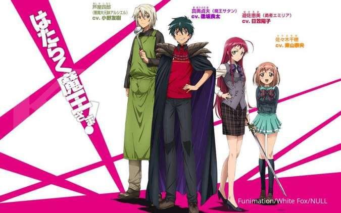 Anime Hataraku Maou-sama! Season 2 siap tayang, setelah 8 tahun
