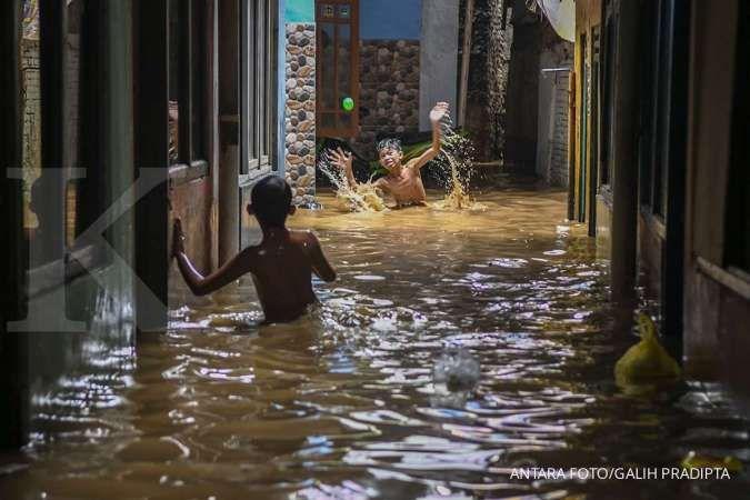 129 RT di Jakarta masih terendam banjir, 1.333 orang mengungsi