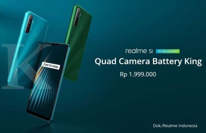 Daftar harga HP Realme 5i terbaru, sekarang mulai dari Rp 1,9 jutaan saja