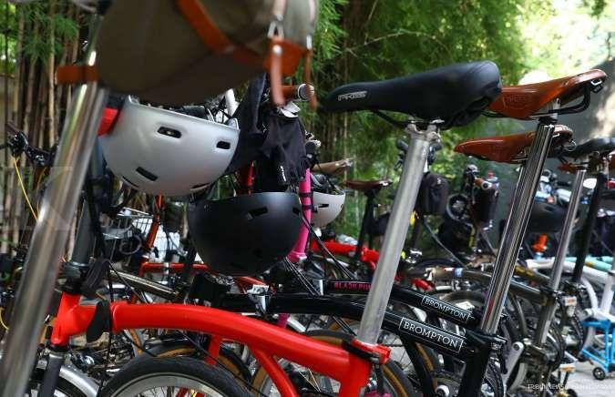 Harga sepeda Brompton dan sepeda lipat lainnya turun jutaan rupiah