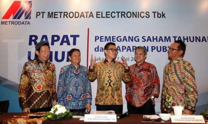 Pendapatan unit bisnis naik, Metrodata Electronics (MTDL) optimis lampaui target
