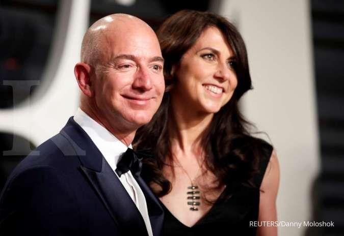 MacKenzie Scott mantan istri Jeff Bezos donasikan Rp 59 triliun ke-384 instansi
