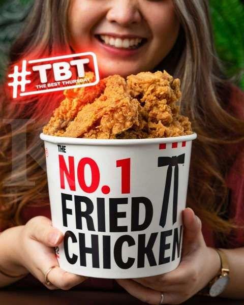 Promo KFC 23 September 2021, The Best Thursday hanya Rp 90.000