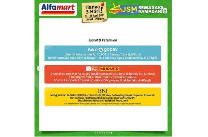 Promo JSM Alfamart 23-25 April 2021